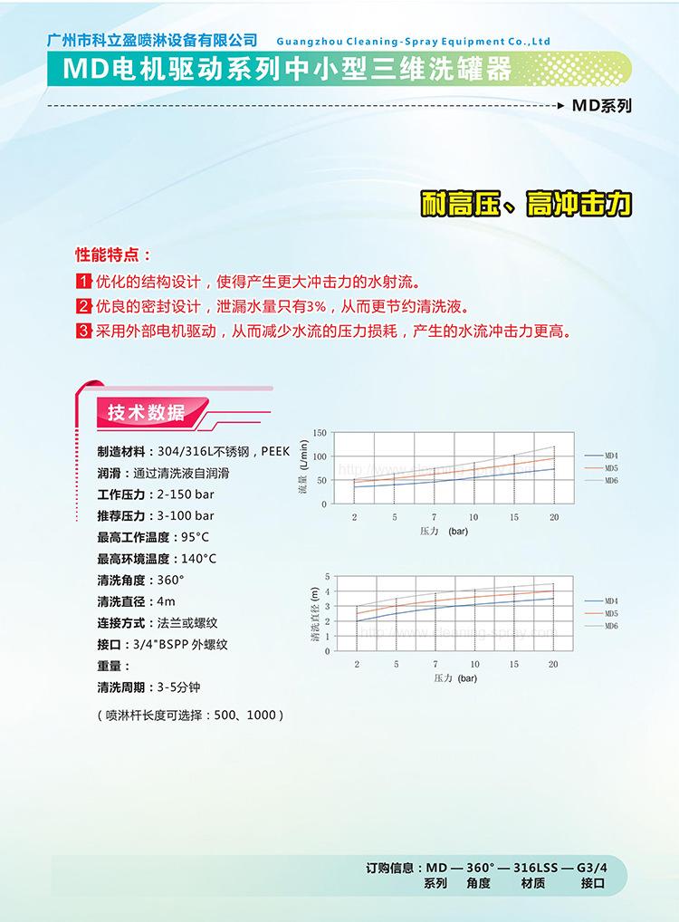 自动洗罐器流量技术参数