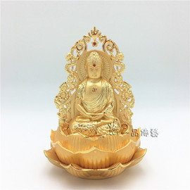 Car decoration, safe opening, double-sided Guanyin, Maitreya, Fortuna Buddha statue, Mao Zedong perfume, car accessories