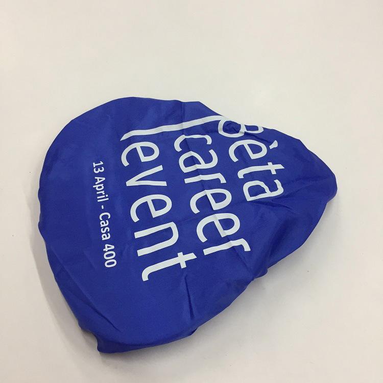 廠家加工設計滌綸自行車罩 一片式印刷山地車鞍座保護套