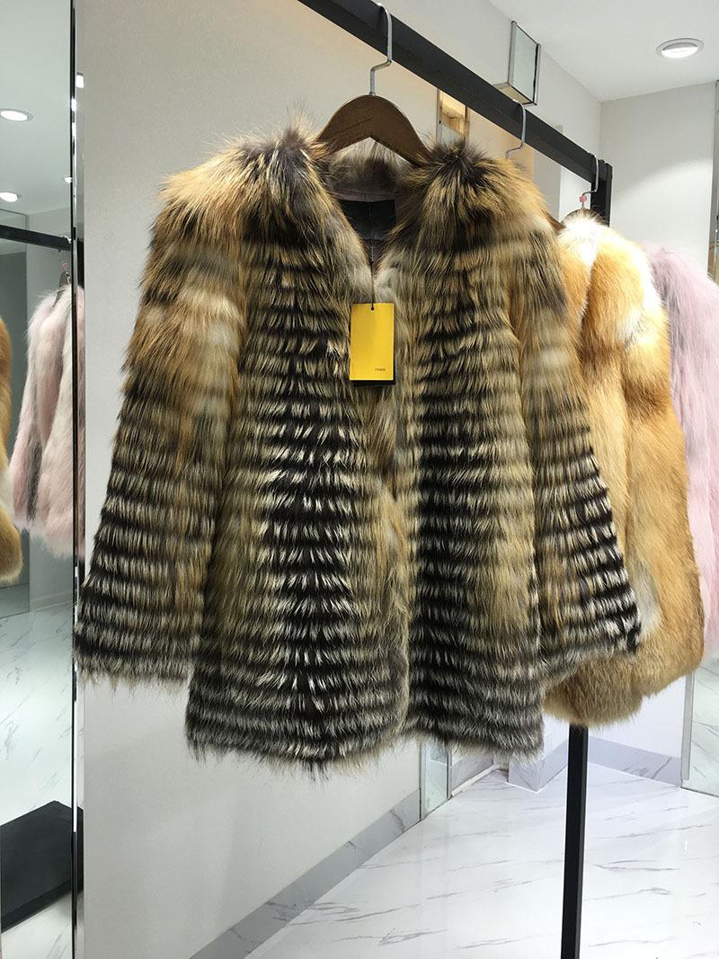 高档皮草批发拿货冬季热卖水貂毛加厚皮草时尚上衣外套女