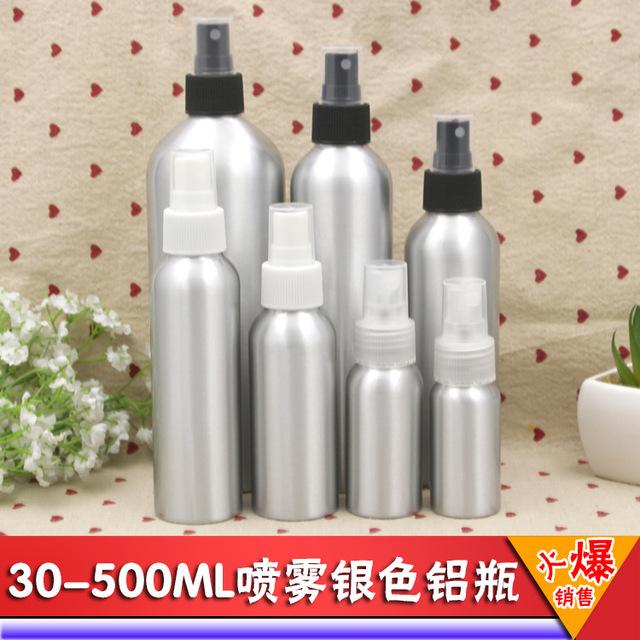 现货30m-250ml清洁剂专用瓶铝瓶精油喷雾瓶花水纯露500毫升分装瓶