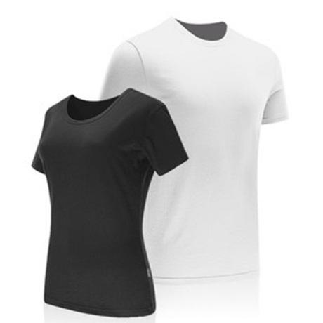 Áo thun nam tay ngắn cổ tròn mùa hè phiên bản Hàn Quốc của triều nửa tay xu hướng mới quần thun nam màu trắng quần áo trắng