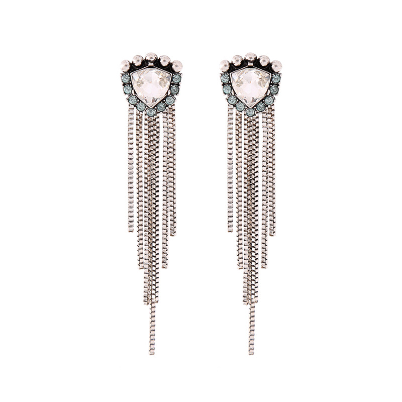 Alloy Fashion Tassel earring(Photo Color) NHQD5154-Photo Color