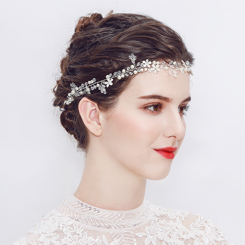 Beads Fashion Geometric Hair accessories  Alloy NHHS0078Alloy