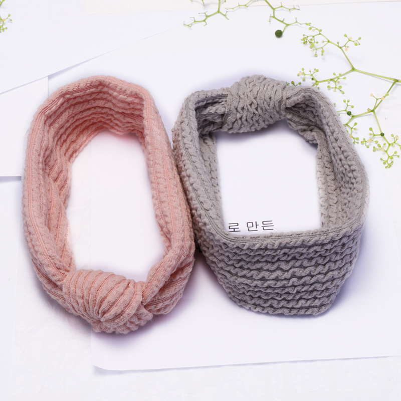 Stretch-knitted hairband, knotted face wash, hairband, headband, headband NHDM182687
