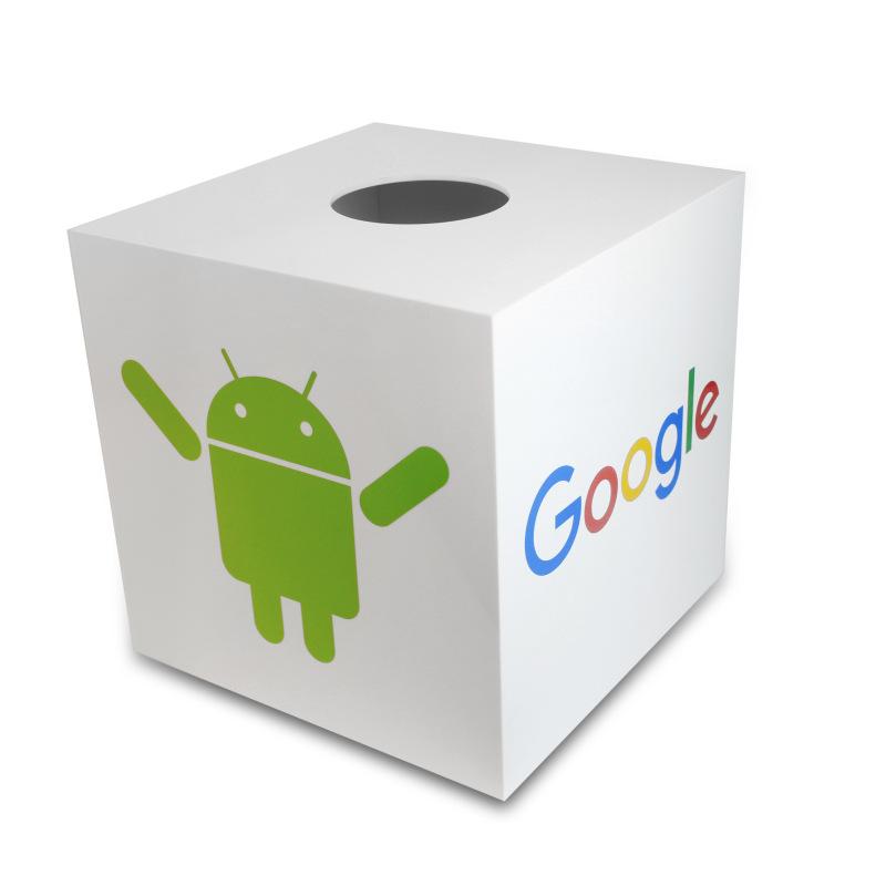深圳厂家直销亚克力白色抽奖箱 年会抽奖箱 有机玻璃盒子可订制