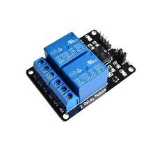 2路继电器模块 5V带光耦保护 继电器扩展板 单片机开发板配件
