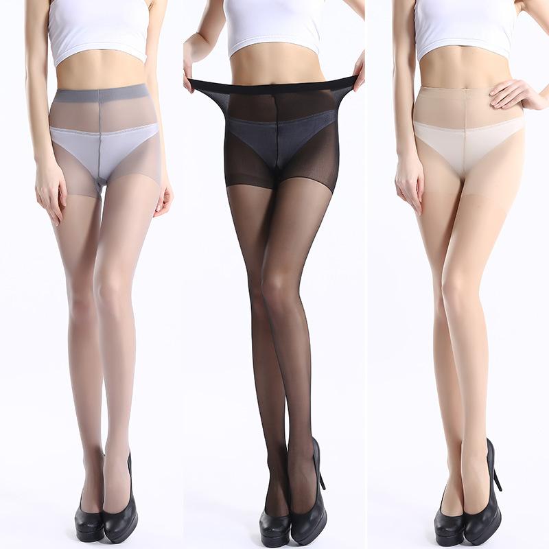 女士絲襪5D薄款包芯絲連褲襪  平板加檔修身簡包裝打底褲廠家直銷