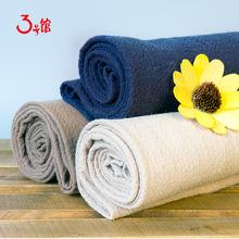 苎麻棉 暗竹节纹理 坐垫抱枕家纺梭织面料 服装棉麻布料 现货