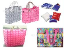 PVC充气袋 充气手提袋 充气时尚袋子 充气购物手提袋