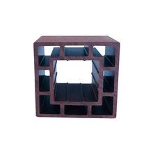 厂家专业生产定制塑木立柱葡萄架扶手景区护栏120*120花架方通