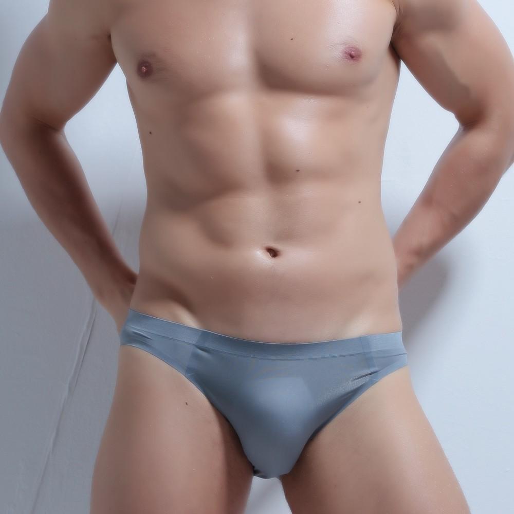 私衣坊=男士內褲 無痕男士迷你三角褲 純色簡約一片式內褲透明透氣  貨號: LD1416- LD1423