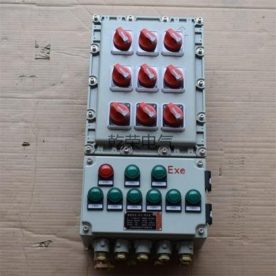 加药车间防爆箱防爆照明配电箱防腐层剥离机上用防爆电控箱
