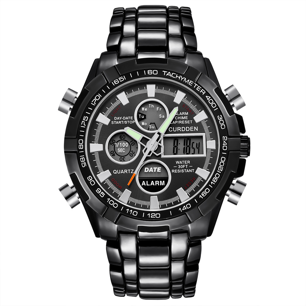 CURDDEN brand men's watch foreign trade...