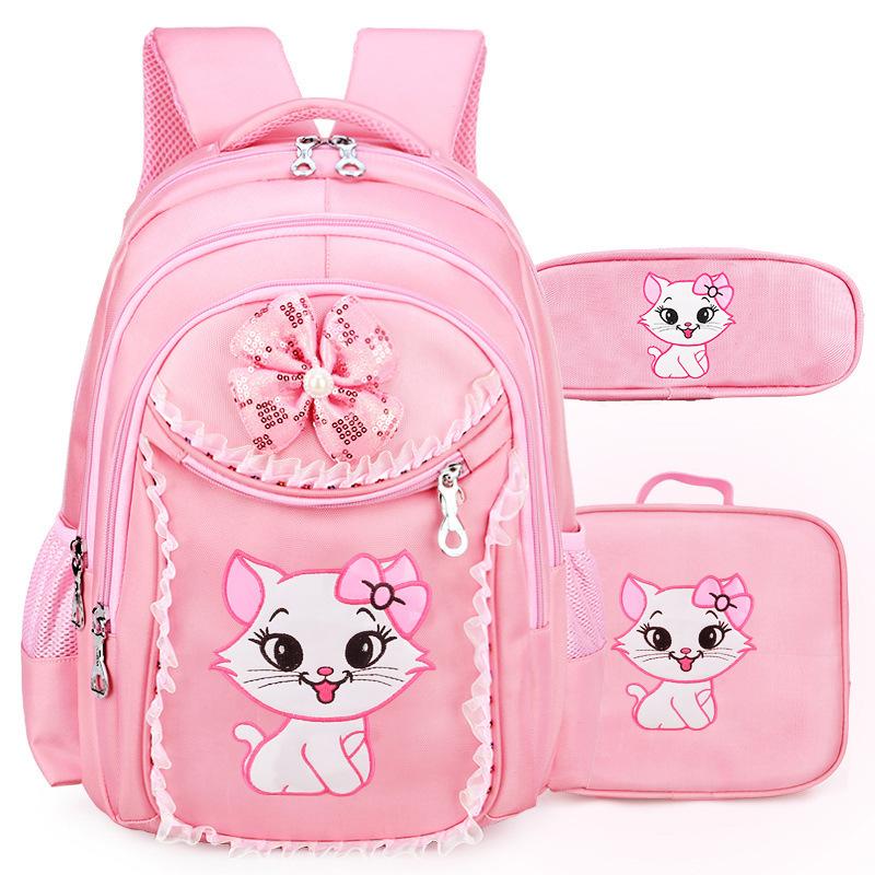 儿童1-3-4-6年级双肩7-9-12周岁书包小学生女孩韩版可爱公主背包