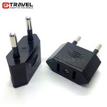 批發新款歐規轉接頭美規轉歐規轉兩用插座轉換插頭歐標插座