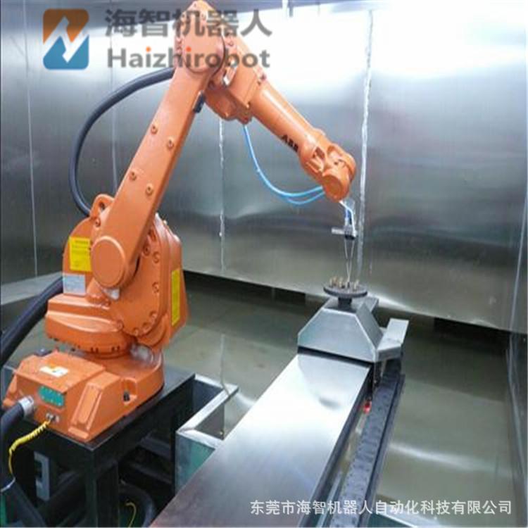 噴涂面漆底漆機器人手臂 噴油漆機械手 海智機械人涂裝自動化車間