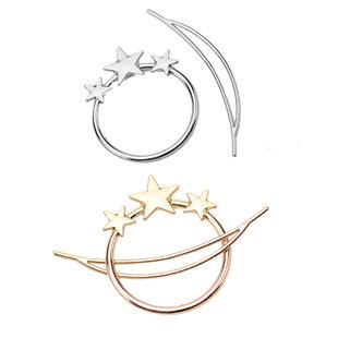 Womens geometric plating alloy Hair Accessories HN190422118626