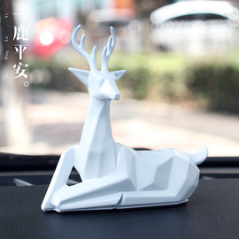 All the way to peace ornaments a deer safe car personality creative car supplies car jewelry ornaments R-1531