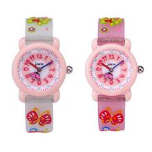 厂家批发儿童手表卡通可爱防水石英表硅胶果冻表带手表小孩童表