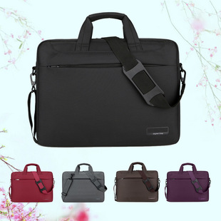 Factory wholesale laptop bag, large capacity laptop bag, briefcase, gift custom computer bag