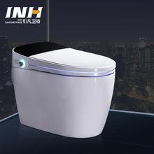 全自动智能马桶一体式脚感冲水自动感应无水箱马桶智能坐便器批发