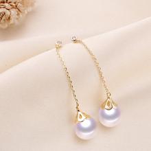 DIY配件 S925银微镶锆石珍珠吊坠戒指套装花瓣款空托半成品银饰