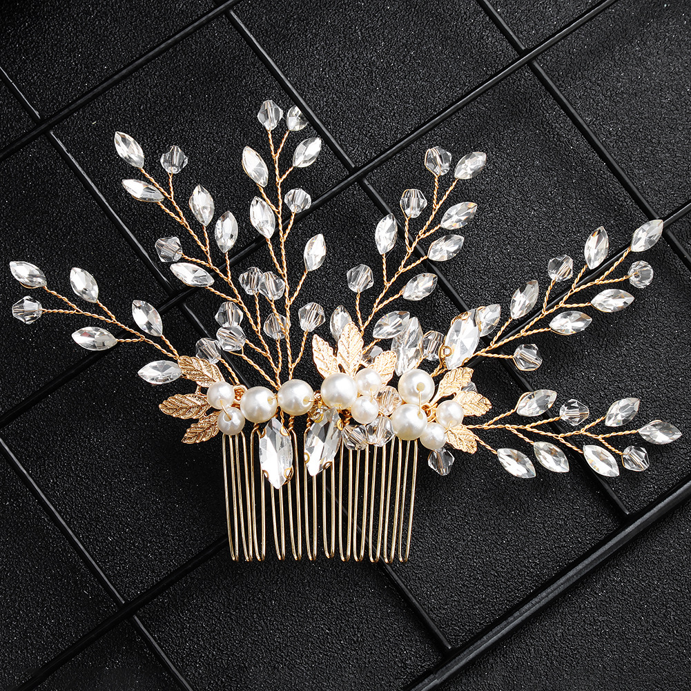 Beads Fashion Geometric Hair accessories  Alloy NHHS0570Alloy