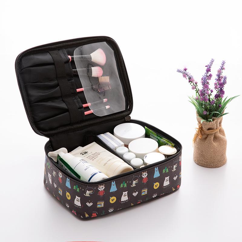 7-1-0简约少女网红化妆包便携旅行洗漱包化妆品PU收纳包0.21