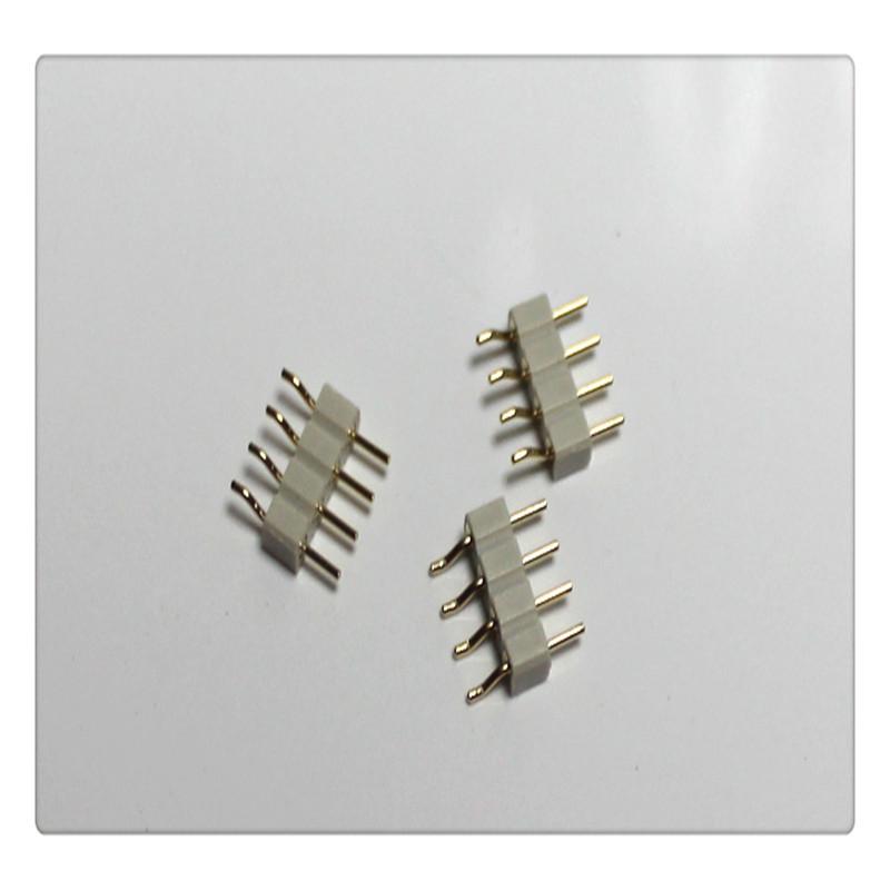 厂家生产直销2.0间距5P圆针连接器插入式直针代替车加工圆孔排针