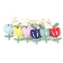 廠家直銷 PU 充棉 動物 植物 花朵掛件鑰匙扣 小禮品贈品現貨批發