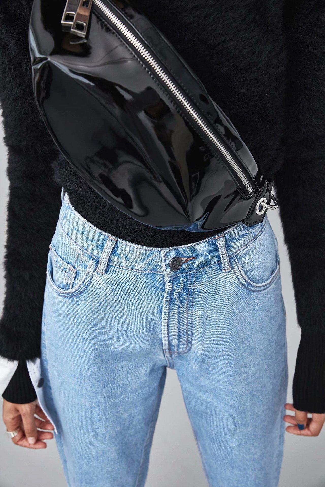 Polyester Fashion  pants  (Light blue-34)  Women Clothing NHAM7283-Light-blue-34