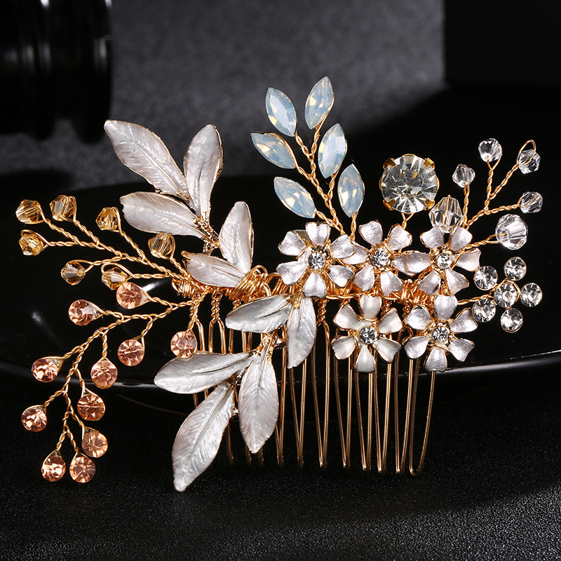 Alloy Fashion Flowers Hair accessories  (Alloy) NHHS0028-Alloy