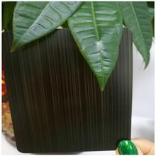 304紫銅板 做舊發黑真空鍍色紅古銅 不銹鋼鍍銅 復古手工拉絲板