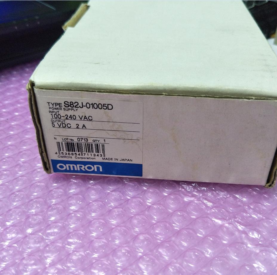 OMRON欧姆龙S82J-01005D 5V/2A电源全新原装正品