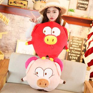 新年礼物小猪毛绒公仔玩具女生抱枕玩偶生日礼品