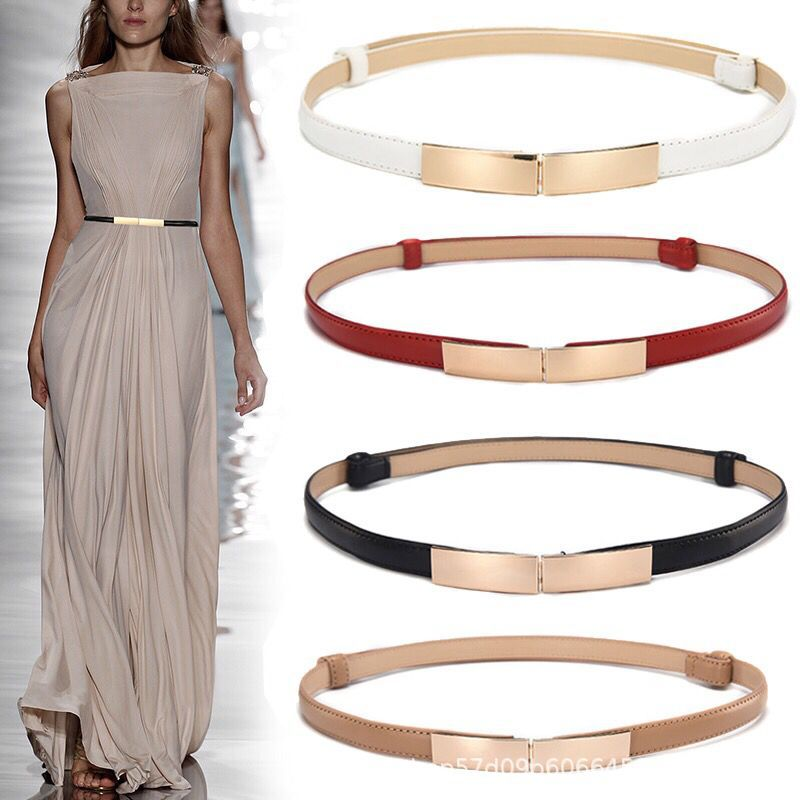 Accessories Belt Women's Fine Decorative Belt