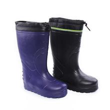 2018爆款加絨活套雨鞋廠家直銷高筒雨鞋長筒雨靴定制款勞保水鞋
