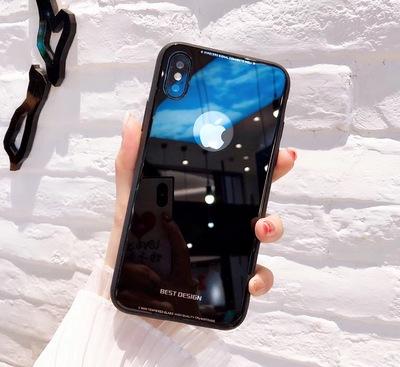 Vỏ iPhone 7 của Apple Vỏ điện thoại di động 6 Vỏ kính cường lực đơn giản 7plus Bìa sáng tạo mới 8P Quà tặng 5.3