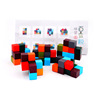 Gifted Childrens Wooden Variable Building Blocks 1-2-3 Years Old Boys and Babies Toys