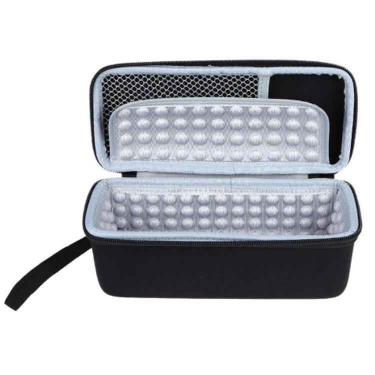 可定制新款便携式Eva数据线收纳盒 大容量整理包厂家直销
