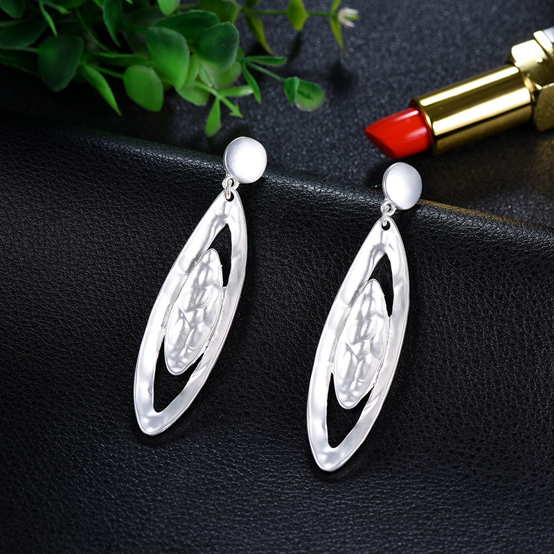 Alloy Simple Geometric earring  (66189010) NHXS2143-66189010