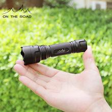 在路上B361迷你手电筒可充电强光手电筒远射超亮袖珍家用户外防水