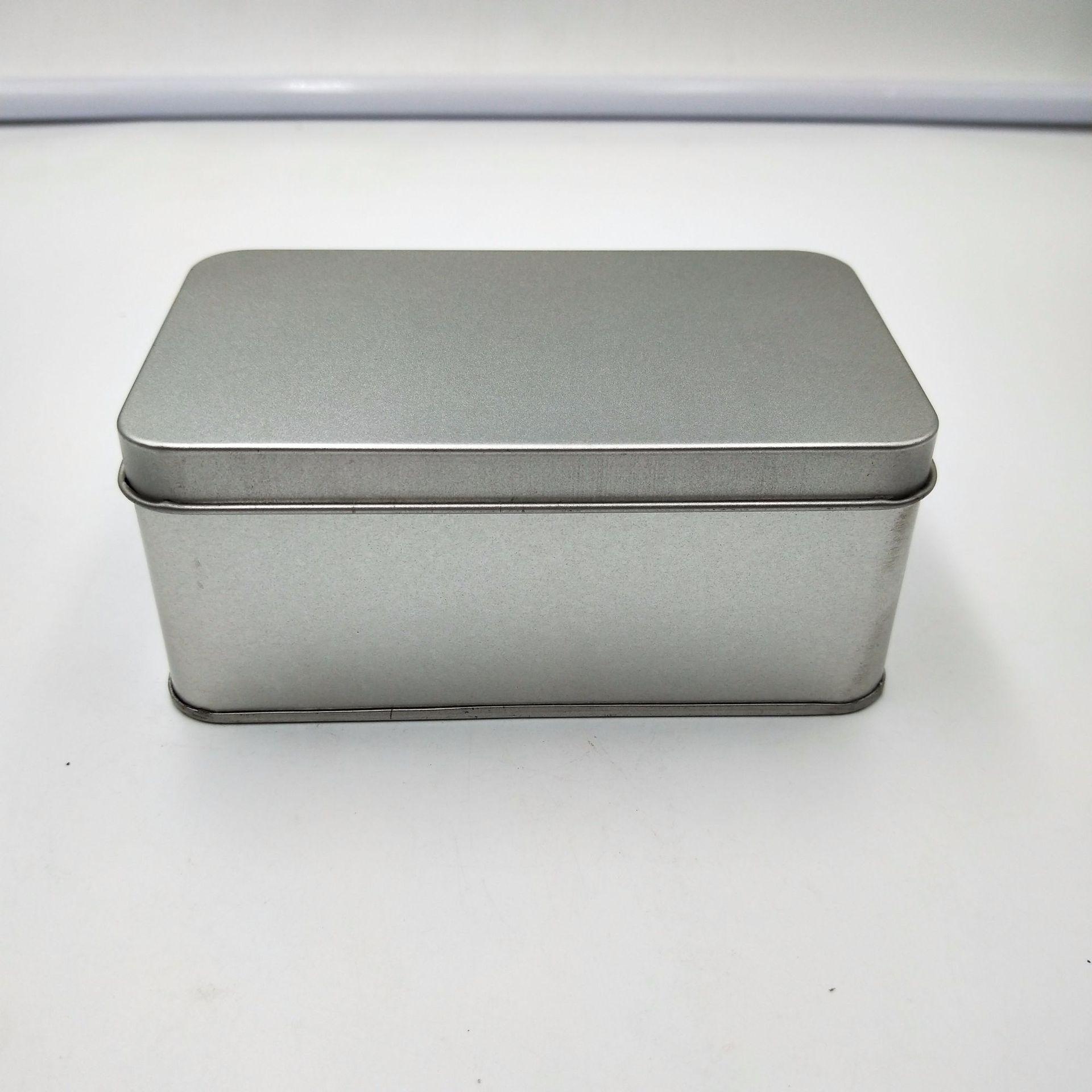 廠家直銷小鐵盒批發 小號正方形 磨砂馬口鐵喜糖盒 茶葉收納盒