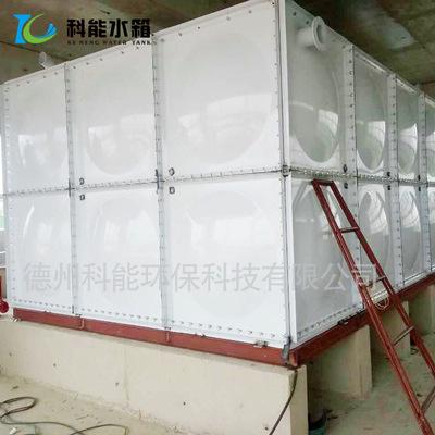 科能喷塑钢板水箱厂家直销消防钢板喷塑水箱 装配式工程机械水箱