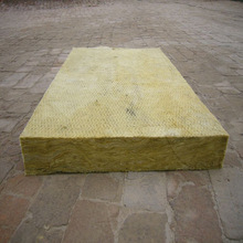 江浙沪防火a级50mm阻燃岩棉保温板 憎水吸音机制高密度岩棉复合板
