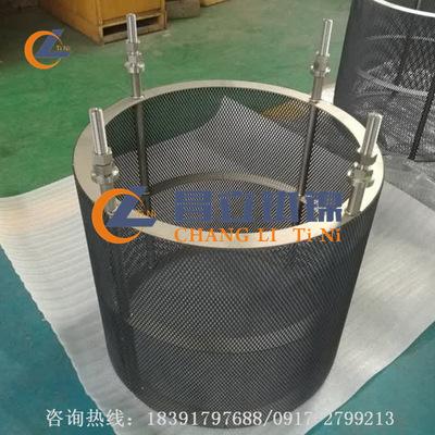 宝鸡昌立钛阳极 钛电极厂家 来图定制加工钛阳极