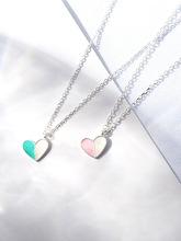 森系純銀925鎖骨鏈女冰淇淋項鏈脖子飾品頸帶項鏈女韓版necklace
