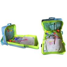 厂家直销汽车座椅儿童画画工具书包 汽车安全座椅旅行画画托盘