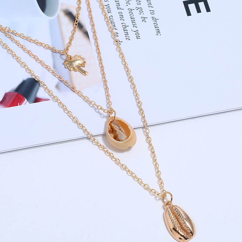 Alloy Simple Geometric necklace  (KC Alloy)  Fashion Jewelry NHKQ2292-KC Alloy